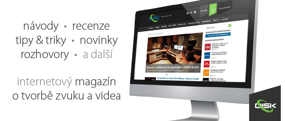 DISK Magazín: Vstupte!